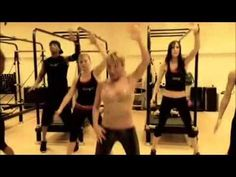 tracy anderson cardio - zumba routine
