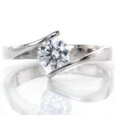 Our collection of contemporary engagement rings. Featuring modern styling in our contemporary engagement rings for the latest and most sophisticated look. Wedding Rings Solitaire, Wedding Rings Vintage, Diamond Solitaire Rings, Solitaire Engagement, Wedding Ring Bands, Gold Wedding, Bridal Rings, Engagement Rings Sale, Wedding Engagement
