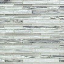 Mangata Glacial November Skies Planks Glass Tile