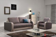 Pohodlná sedacia súprava Dedra s rozkladacou pohovkou #sofa #divan #couch #settee