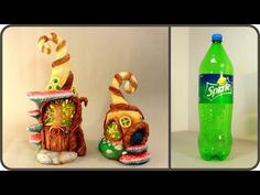 ❣DIY Halloween Fairy House Lamp Using a Plastic Bottle❣ - YouTube