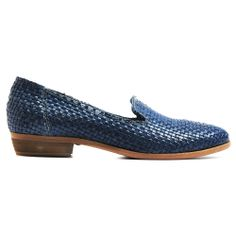 GRETA   Midas Slip into these textured Italian loafers this season. Featuring a quality woven leather finish and a stacked heel. Wear yours to work with tailored trousers and a block coloured blouse or on the weekend with opaques, a skirt and knit. Made in Italy.
