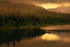 landscape capture with low cloud cover in Waterton National Park Waterton National Park, National Parks, Park Pictures, Cool Pictures, Environment, River, Explore, Mountains, Landscapes