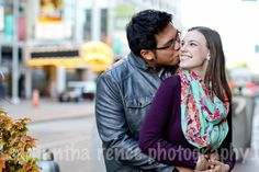 Playhouse Square Engagement Session  by Sami Renee Photography // Cleveland Family, Wedding, & Portrait Photographer