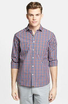 Billy Reid 'John T' Plaid Shirt available at #Nordstrom