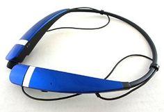 LG Tone Pro HBS-760 Wireless Bluetooth Headphones Blue
