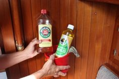 How to get rid of boat odors.