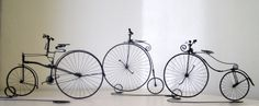 historicke bicykle Wire Art Sculpture, Antiquities, Home Decor, Pictures, Antiques, Homemade Home Decor, Decoration Home, Interior Decorating