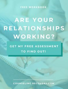 Relationships are the super glue of life but when you don't know how to assess what's good for you and what isn't they can be confusing and frustrating. I've created a workbook to help you asssess the health of your relationships by helping you identify strengths and areas of growth. Sign up and get started! #relationships #marriage #relationshipadvice #recovery #codependency #intimacy #couples #therapy Relationship Problems, Relationship Advice, Relationships, Improve Communication, Codependency, Super Glue, Conflict Resolution, Anger Management, Self Esteem