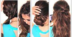 23 ideas de peinados fáciles y tutoriales, ¡no te lo pierdas!