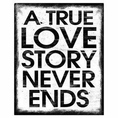 Love Story Wall Art.