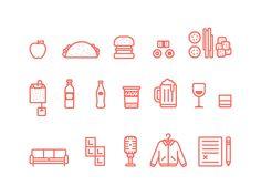 Dribbble - DBX Icons Illustrations by Ryan Putnam