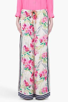 Elizabeth And James Luxury Silk Pyjamas Pants | Womens Trouser, Pajamas, Clothing & Nightwear