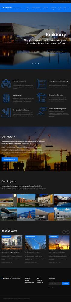 Builderry is Premium full Responsive #Retina #WordPress Theme. Bootstrap 3. If you like this Theme visit our handpicked list of best #ArchitectThemes at: http://www.responsivemiracle.com/best-architect-wordpress-themes/