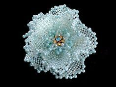hand made beaded corsage - Google Search