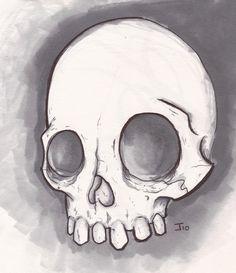 Easy skull drawings, simple skull drawing и skull sketch. Skeleton Drawing Easy, Simple Skull Drawing, Easy Skull Drawings, Skeleton Drawings, Bone Drawing, Memes Arte, Skull Anatomy, Skull Sketch, Skull Illustration