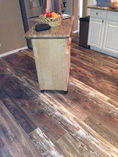 Check out these pictures of the laminate flooring we just installed for Garry Michael
