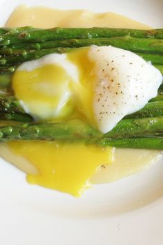 Asparagus with Miso Butter Recipe - NYT Cooking How To Cook Asparagus, Asparagus Recipe, Asparagus Spears, Tostada Recipes, Vegetable Recipes, Miso Ginger Dressing, Butter Recipe, Vegetable Side Dishes, Kitchens