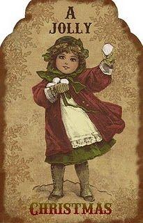 'A Jolly Christmas' Tag