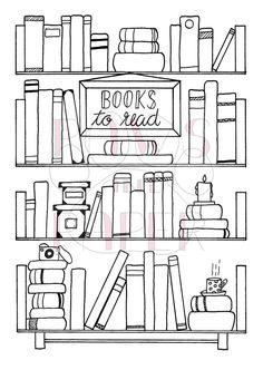 Books Printable Books to Read Reading Planner Reading Tracker Books Planner Books for Baby Planner Insert Bullet Journal Starter Kit Bullet Journal Bookshelf, Books To Read Bullet Journal, How To Bullet Journal, Bullet Journal Printables, Journal Template, Bullet Journal Ideas Pages, Bullet Journal Layout, Bullet Journal Inspiration, Book Journal