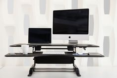 Adjustable height desks for Autumn VARIDESK print campaigns #Changethewayyouwork - http://uk.varidesk.com/height-adjustable-desks