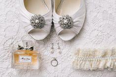 bridal flat lay
