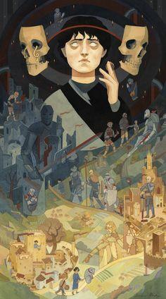 Valar Morghulis - Serena Malyon Illustration