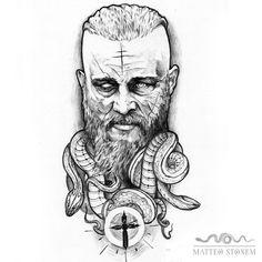 Ragnarr Loðbrók . #disponibile       #onlyblackart #tattoodesign #tattoos #tattooing #darkartists #blackwor...   Ragnarr Loðbrók . #disponibile       #onlyblackart #tattoodesign #tattoos #tattooing #darkartists #blackwork #blackworkers #dotwork #darkside #ink #gotich #blackworkitaly #ragnarlothbrok #ragnarlothbroktattoo #vikings #vikingtattoo O Tattoo, Dot Work, Tattoos With Meaning, Blackwork, Vikings, Ink, Meaning Tattoos, The Vikings, Meaningful Tattoos