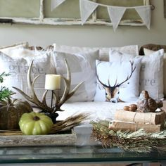Styling A Coffee Table:  Fall Decor Tips