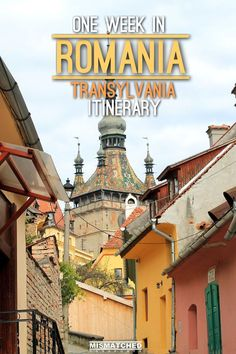 Are you planning to visit Romania? Apart from Bucharest, the region of Transylvania is a great place for a week's visit in this beautiful country. During our one week in Romania, we absolutely fell in love with it. Check out our full itinerary for One Week in Romania here which includes Bran, Rasnov, Brasov, Sighisoara and Busteni.