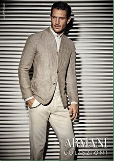 3bd154440ea2 Additional Photos of Justice Joslin for Armani Collezioni Spring Summer  2014 Campaign