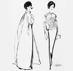 1961: Jacqueline Kennedy collaborates with Diana Vreeland and Bergdorf Goodman's fashion director Ethel Frankau to design the dress worn to President Kennedy's Inaugural Ball. #TurnofStyle