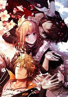 Tags: Anime, Scan, Hanamura Mai, AMNESIA, Shin (AMNESIA)