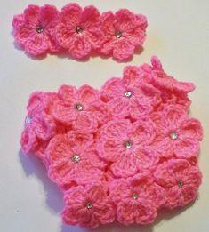 Crochet Photo Prop Outfit - Newborn Crochet Princess Diaper Cover Set