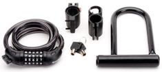 Real People Bike Lock Kit Bundle with 4-Feet Combination Cable Lock #RealPeople