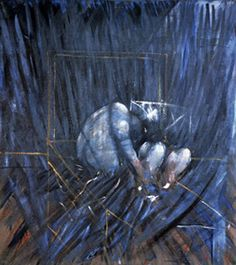 Francis Bacon. Untitled (Crouching Figures), 1952