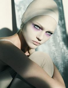 Sasha Pivovarova … Viva Ballerina, Vogue China, November 2005 … by Laurie Bartley …