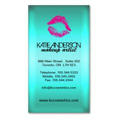 Sassy Smooch Lips Business Cards. I love this design! It is available for customization or ready to buy as is. All you need is to add your business info to this template then place the order. It will ship within 24 hours. Just click the image to make your own!