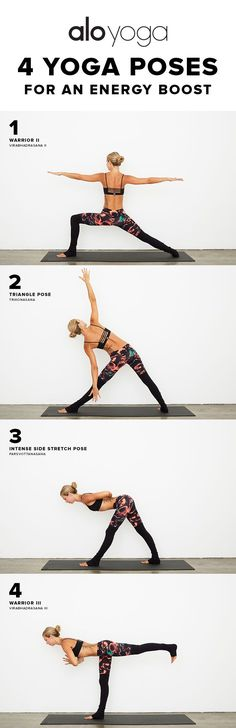 4 Yoga Poses For An Energy Boost