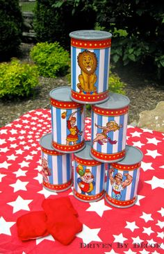 Thinking about hosting a carnival or circus birthday party? I'm sharing the games, prizes, and food that made our carnival party a huge success!