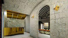 διακόσμησή οινοποιείου  Santo Wines Winery | Σχεδιασμός και διακόσμησή οινοποιείου στην Σαντορίνη Restaurant Bar, Restaurants, Wall Lights, Lighting, Home Decor, Appliques, Decoration Home, Room Decor, Restaurant