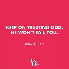 Amen! :-)