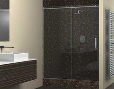 Posuvná sklenená sprcha so systémom posuvných dverí BX-CLASSIC. Vhodná pre výklenkové, rohové, kruhové alebo U sprchy.