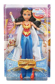 9c68bd133587a Amazon.com  Mattel DC Super Hero Girls Premium Wonder Woman Action Doll