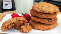 The Best Chocolate Chip Cookies | Steven and Chris | Chef Joshna Maharaj says the key to success with these cookies is the high heat that cooks them from the bottom, and helps keep them nice and chewy while still crisp on the outside. Be careful not to overbake, and...