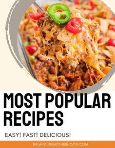The World's Easiest Baked Donut Hole Recipe | Balancing Motherhood Dip Recipes, Salad Recipes, Easy Recipes, Easy Meals, Casserole Dishes, Casserole Recipes, Noodle Casserole, Grape Salad, Pea Salad