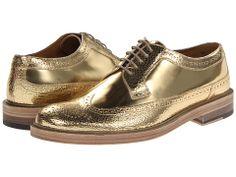 Marc Jacobs Metallic Oxford - GOLD METALLIC OXFORDS.....way to gooooooo!!!!!!