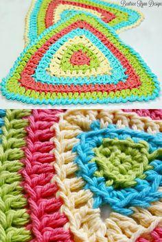 Totally Triangle Dishcloth Free Crochet Pattern!