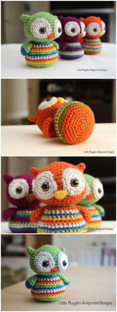 Baby Owl Free Pattern