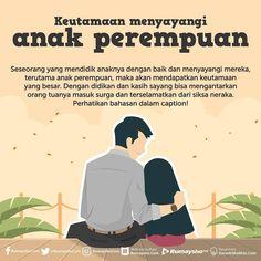 """Indonesia Bertauhid [Asli] 🔵 di Instagram """"Dari 'Aisyah radhiyallahu 'anha, ia berkata, """"Ada seorang wanita masuk ke tempatku dan bersamanya ada dua anak gadisnya. Wanita itu meminta…"""" Reminder Quotes, Self Reminder, Poem Quotes, Quran Quotes, Life Quotes, Qoutes, Muslim Quotes, Religious Quotes, Islamic Inspirational Quotes"""